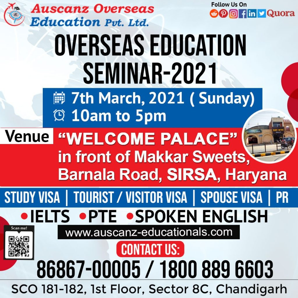 Free Seminar Study Abroad