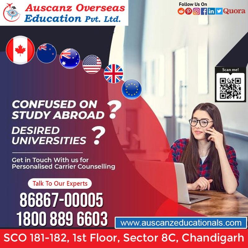 Best Study Visa Consultants in Chandigarh