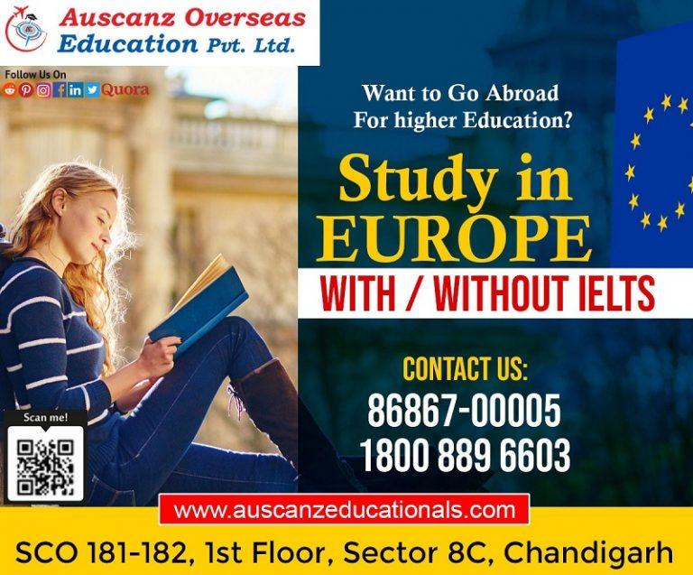 Europe Study Visa Expert In Chandigarh