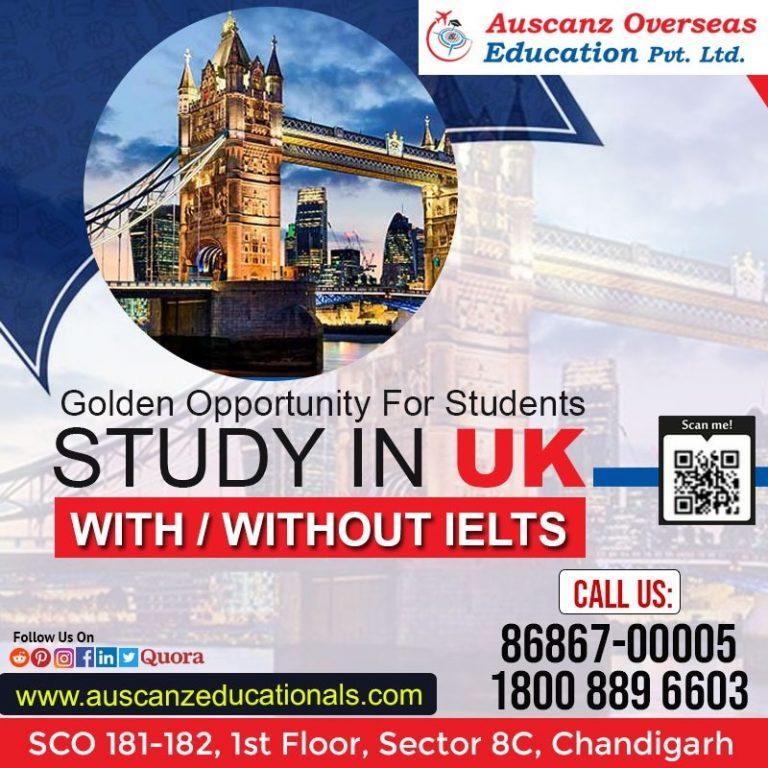UK Study Visa Consultant in Chandigarh