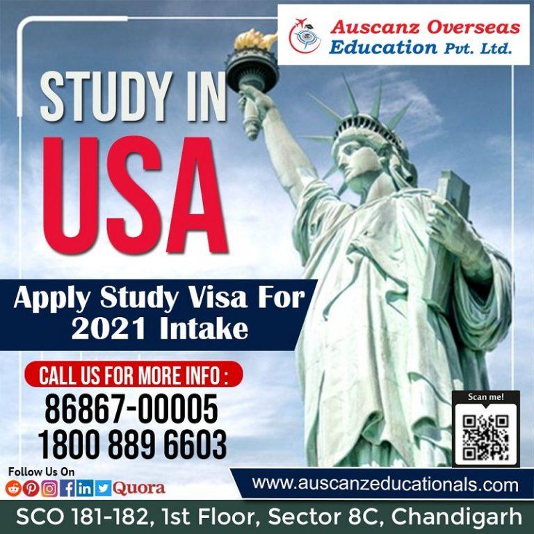USA Study Visa Consultant in Chandigarh