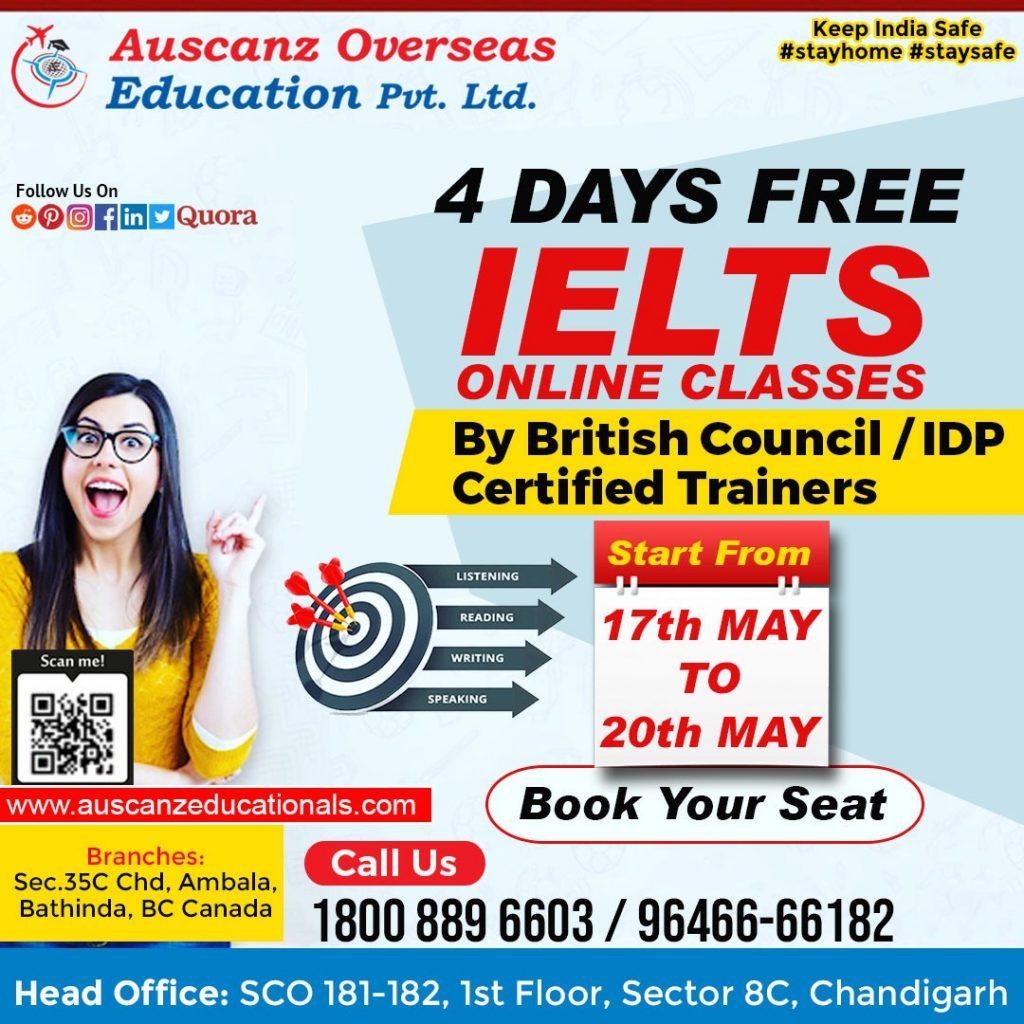 Free IELTS Master Class