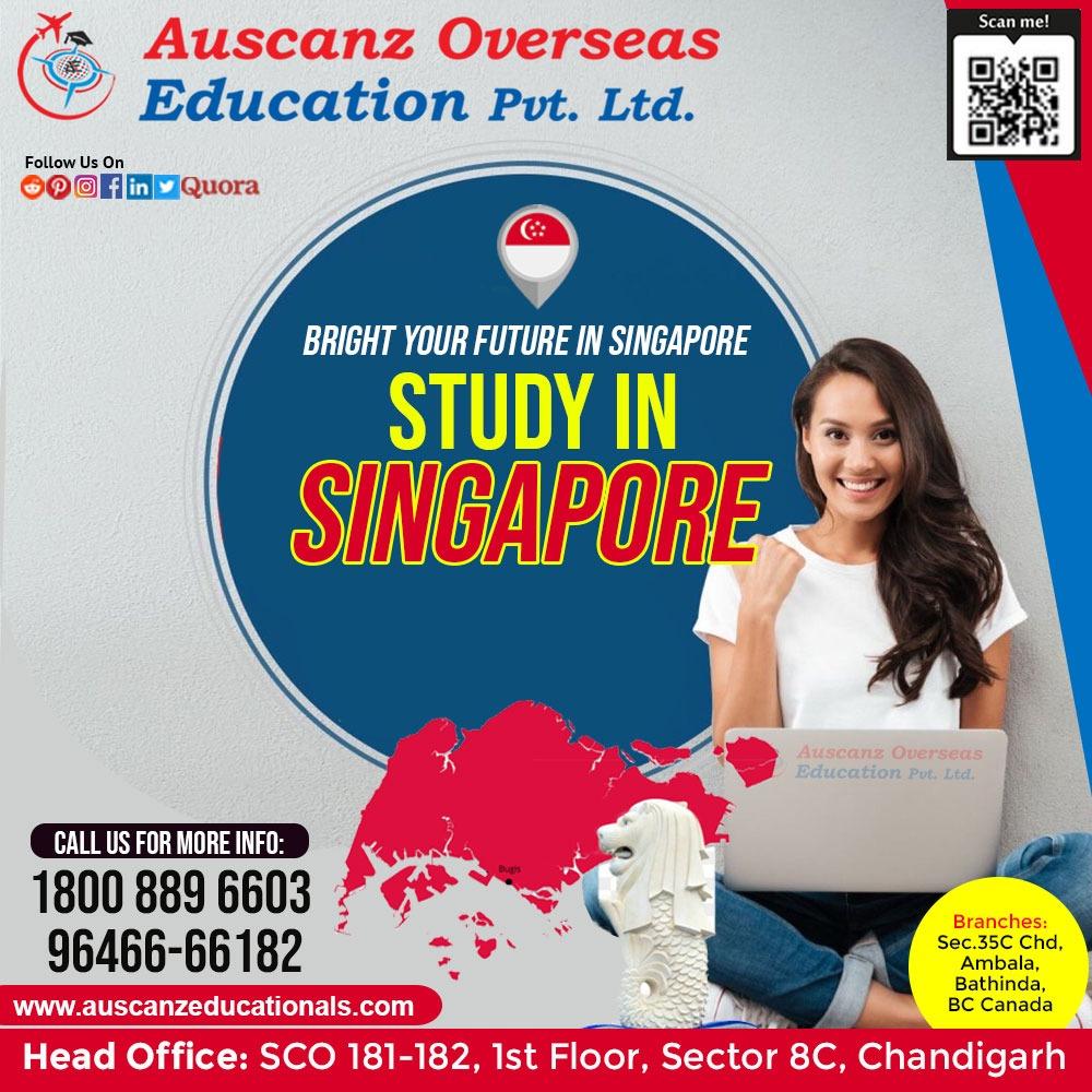 Singapore Study Visa Expert in Chandigarh