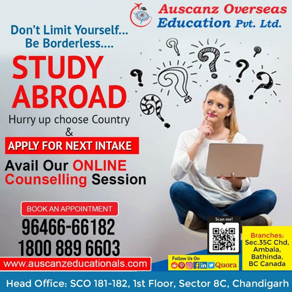 Study Visa Expert in Chandigarh